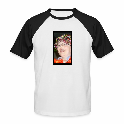 sean the sloth - Men's Baseball T-Shirt