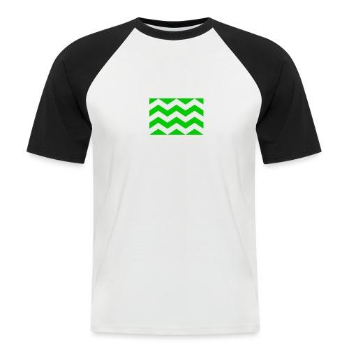 Vlag westland kassen - Mannen baseballshirt korte mouw