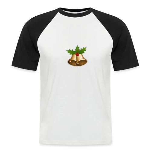 kerstttt - Mannen baseballshirt korte mouw