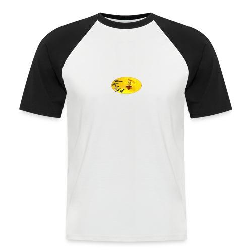 CROW MEME - Männer Baseball-T-Shirt