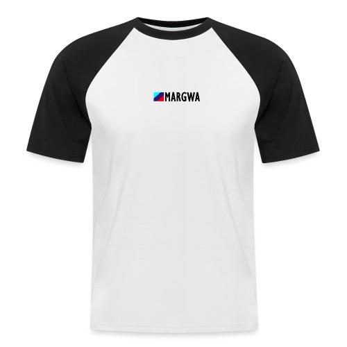 MARGWA BLACK - Männer Baseball-T-Shirt