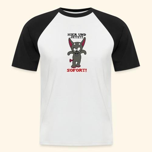Zwergschlammelfen - Hier und Jetzt, Sofort! - Männer Baseball-T-Shirt