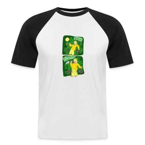 Katzenhaare - Männer Baseball-T-Shirt