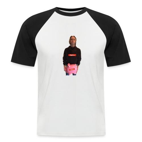 Sigrid_uPhotoTee - Kortermet baseball skjorte for menn