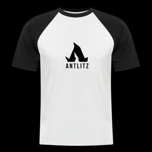 Antlitz - Männer Baseball-T-Shirt
