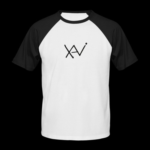 Xavi Basic White - Männer Baseball-T-Shirt