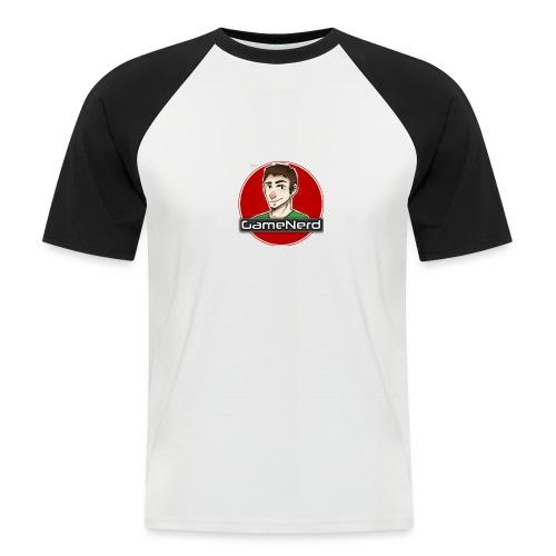 GameNerd Logo - Kortärmad basebolltröja herr