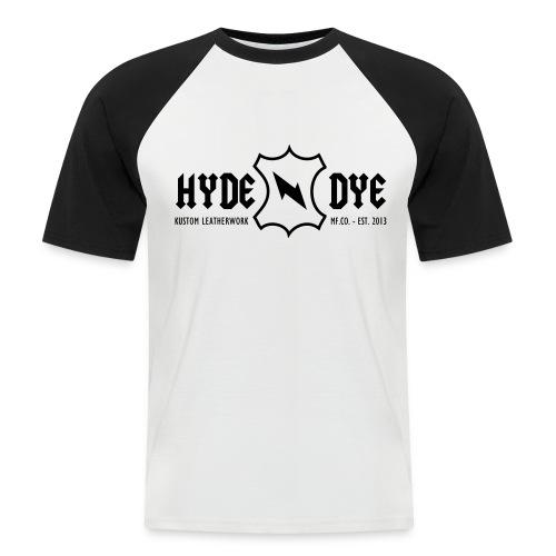 Hyde-N-Dye - Kortermet baseball skjorte for menn