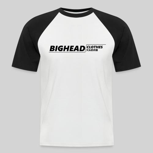 BigHead Clothes Street - T-shirt baseball manches courtes Homme