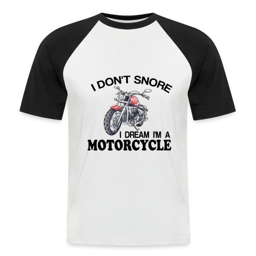 I DON´T SNORE - Camiseta béisbol manga corta hombre