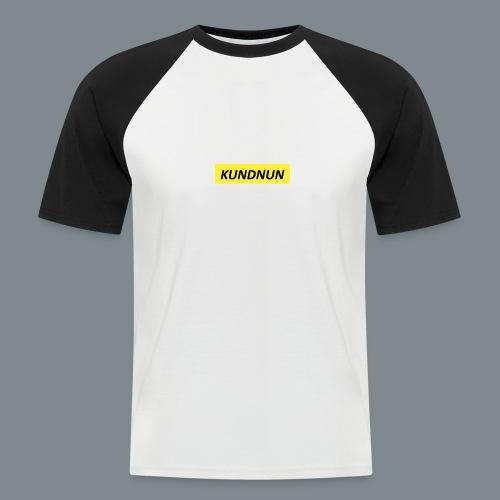 Kundnun official - Mannen baseballshirt korte mouw