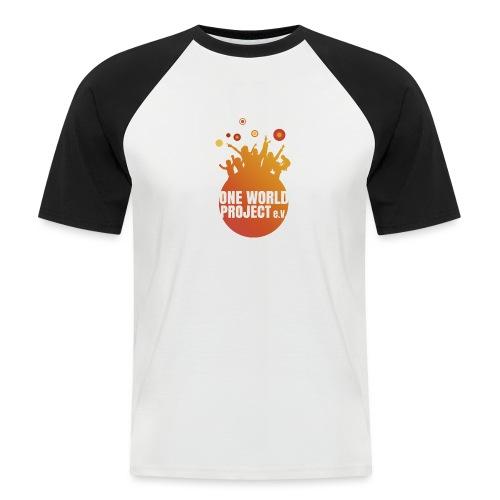 One World Project e. V. - Logo - Männer Baseball-T-Shirt