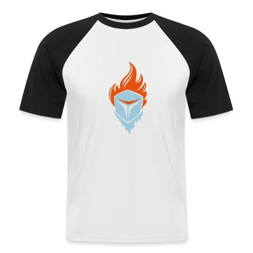 Fire and Ice 3C - Männer Baseball-T-Shirt