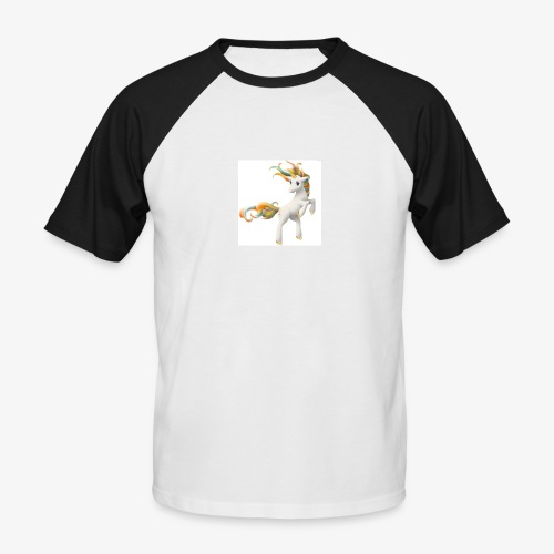 Love Unicorn - Männer Baseball-T-Shirt