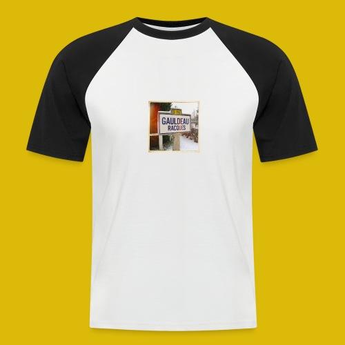 Gogoldorak - T-shirt baseball manches courtes Homme
