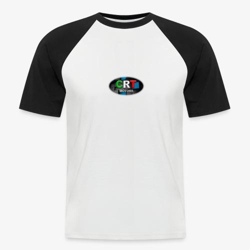 CRT Logo - Men's Baseball T-Shirt