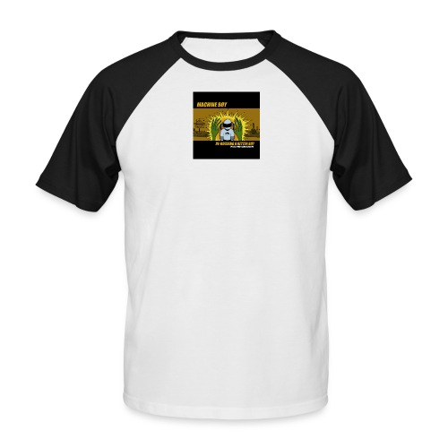 Machine Boy Rebuild - Men's Baseball T-Shirt