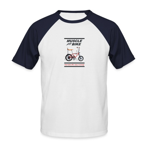 musclebike03 - T-shirt baseball manches courtes Homme