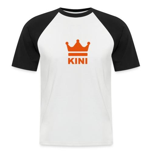 KINI ist König - Männer Baseball-T-Shirt