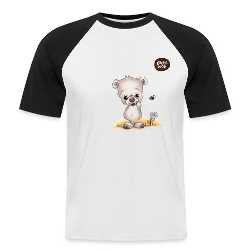 Noah der kleine Bär - Männer Baseball-T-Shirt