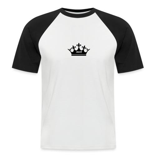 black whitecrown png - Men's Baseball T-Shirt