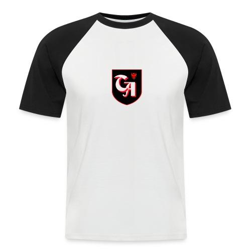logo sandro twitch - Männer Baseball-T-Shirt