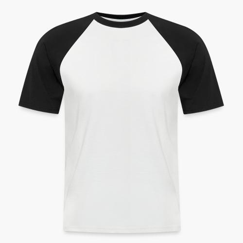 LogoAlexStudiosWhite - Männer Baseball-T-Shirt