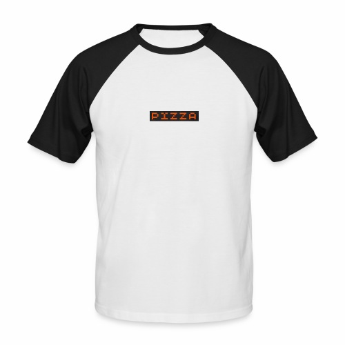 Collection pizza - T-shirt baseball manches courtes Homme