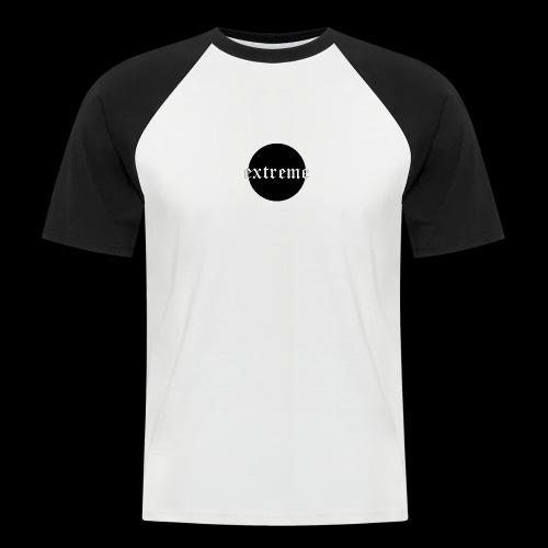extreme black - Men's Baseball T-Shirt