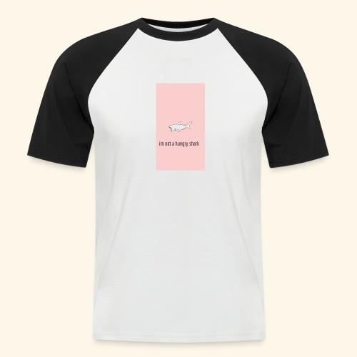 im not a hungry shark - Camiseta béisbol manga corta hombre