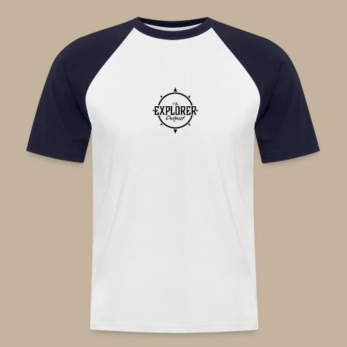 Black TEO Logo - Men's Baseball T-Shirt