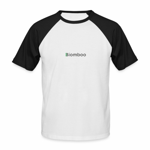 Biomboo Charcoal - Men's Baseball T-Shirt