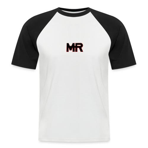 MR logo - Kortærmet herre-baseballshirt
