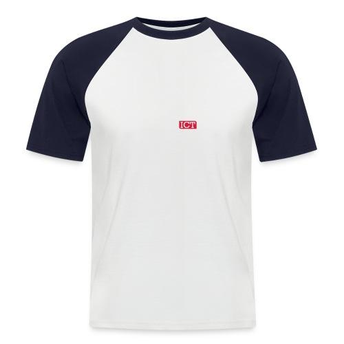witrood - Mannen baseballshirt korte mouw