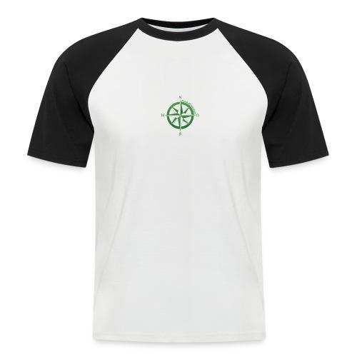 Team Bushcraft Kompass - Männer Baseball-T-Shirt