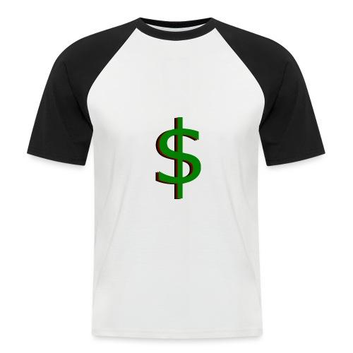 dollar - Mannen baseballshirt korte mouw