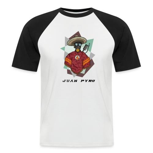 Jaun Pyro 4000x4000 - Men's Baseball T-Shirt
