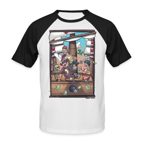 les pirates - T-shirt baseball manches courtes Homme