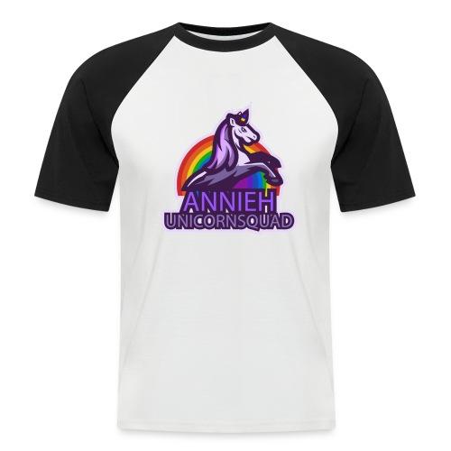 Annieh Unicorn Squad - Mannen baseballshirt korte mouw