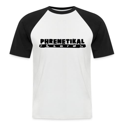 Lettering Basic 01 Phrenetikal - Men's Baseball T-Shirt