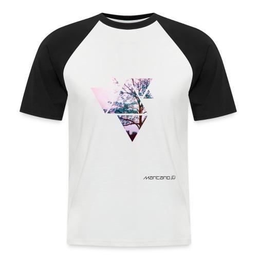 POLYGON TREE - Männer Baseball-T-Shirt