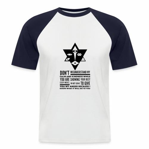 The Unordinary - Kortærmet herre-baseballshirt