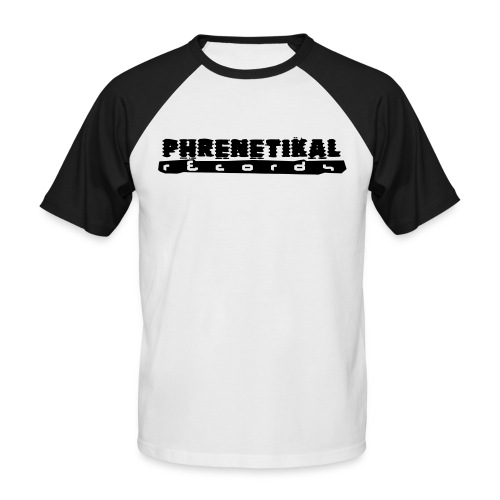 Lettering Basic 01 Phrenetikal - Men's Baseball T-Shirt