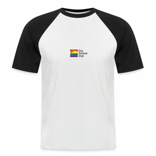GOC Logo Black Text - Men's Baseball T-Shirt