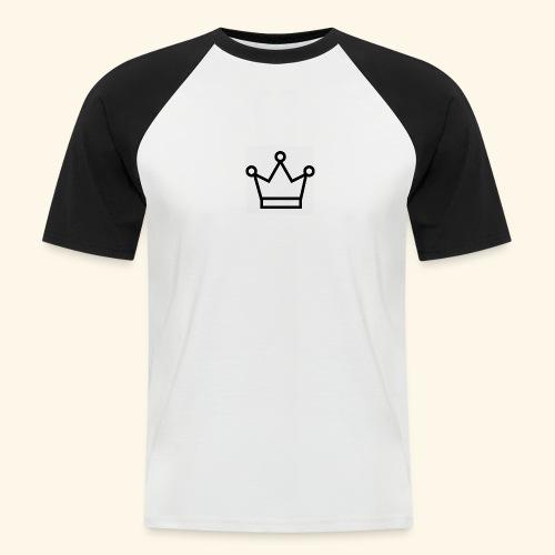 The Queen - Kortærmet herre-baseballshirt