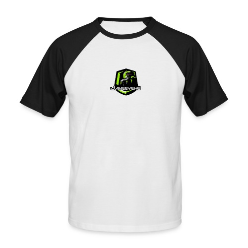 JakeeYeXe Badge - Men's Baseball T-Shirt