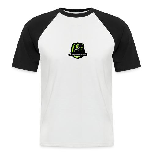 JakeeYeXe Badge - Men's Baseball T-Shirt
