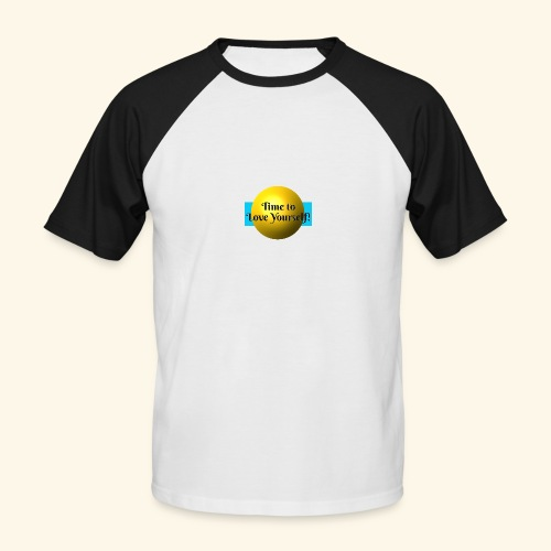 Time to Love Yourself - Männer Baseball-T-Shirt