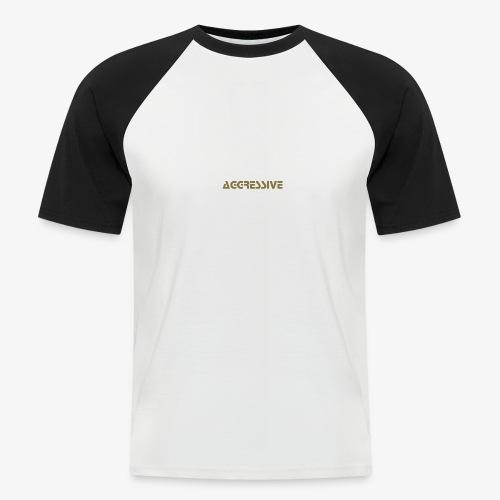 Aggressive Name - Camiseta béisbol manga corta hombre