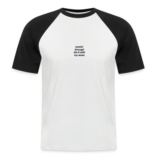 cap woes - Mannen baseballshirt korte mouw